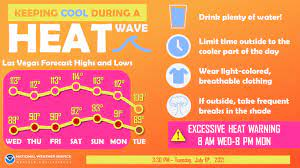 Excessive heat warning in effect for ...