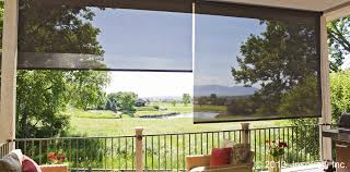 exterior roller shades for patio. exterior patio shades roller for