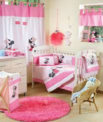 baby bedding sets disney baby minnie mouse flower 4 piece crib set baby nursery bedding
