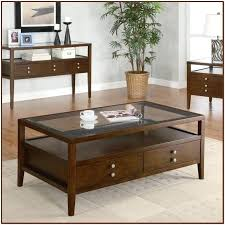coffee table with glass top awesome glass top coffee table with drawers in modern sofa design coffee table with glass top