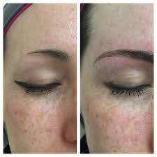 microblading also known as eyebrow embroidery and or eyebrow feathering is a form of permanent makeup soft tap technique or anese method makeup which