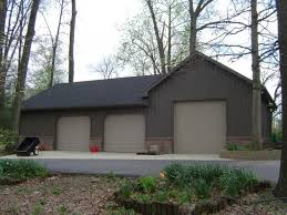 pole barn metal siding. Home \u0026 Apartment, Simple Pole Barn House With Metal Siding And Roofing Three Units Garage Doors ~ Designs: The Escape From Popular Modern W