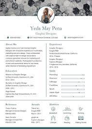 Graphic Designer Resume Template Mesmerizing Free Modern Graphic Designer Resume CV Template In Photoshop PSD