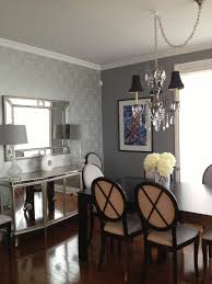 art deco inspired living and dining