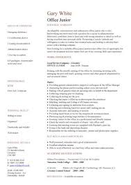 Office Resume Template Best Administration CV Template Free Administrative CVs Administrator