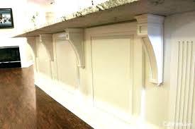 kitchen island corbels cabinet with decorative add elegant detail brackets countertop support kitchen island