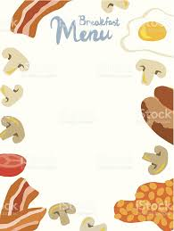 breakfast menu template breakfast menu template stock vector art 480152907 istock