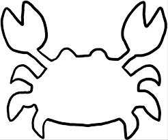 crabStencil grab like a crab mckay school of education on easy crab coutout templates