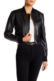 image of w118 by walter baker nicole sheep leather jacket