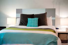 King Size Plank Headboard In Bedroom Original