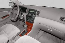 toyota corolla 2005 interior. interior profile 2005 toyota corolla