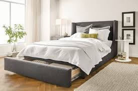 image credit courtesy of room u0026 board bed frame design r86