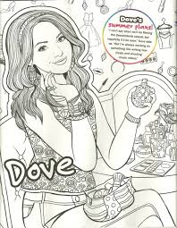 Coloring Pages Professional Descendants Coloring Pages Mal