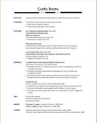 Resume Example For College Graduate Cover Letter Examples For Recent