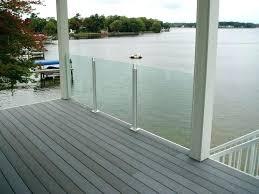 glass railing for decks exotic glass deck railing glass handrail on deck view aluminum deck railing glass railing for decks