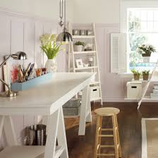 home office photos. Home Office With Art Trestle Table And Storage Home Photos