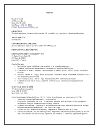 security clearance resume example chicago essay workshop the perfect essay educational resume