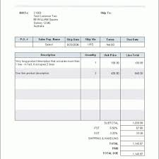 Standard Invoices Template A4 Or Standard Invoice Template Templates And Samples Pertaining