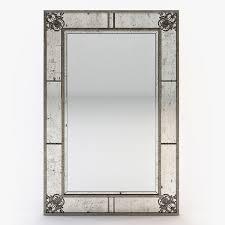 mercury glass mirror. Schumacher - Bedford Mercury Glass Mirror