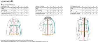 Outwear Size Chart For Ladies Hemp Hoodlamb 2013 Winter