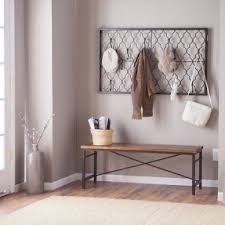 Entryway Coat Rack And Bench Metal Wall Mounted Coat Rack Foter Foyer Pinterest Wall 89