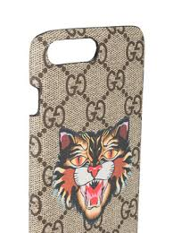gucci iphone 7 plus case. gucci angry cat gg supreme iphone 7 plus case iphone s