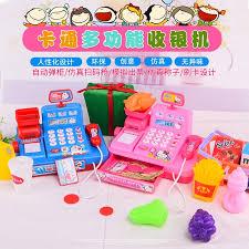 Girls'Supermarket Cashier, Cashier, Toy Lighting, Music, Parent ...