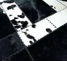 cowhide rug black and white patchwork cowhide rugs shine black and white zebra cowhide rug faux