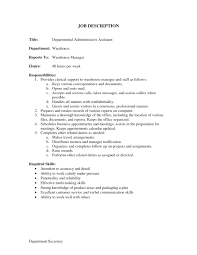 Administrative Assistant Duties Administration job description administrative assistant duties 1