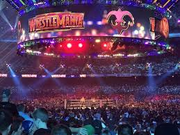 Wrestlemania Superdome Seating Chart Mercedes Benz Superdome Section 113 Row 10 Seat 10