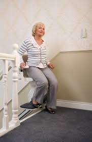 standing stair lift. Lady Getting Off One Of The Homeglide Stair Lifts For Sale Standing Lift I