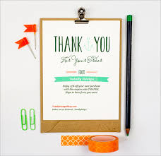 Thank You For Your Business Card Template 17 Business Thank You