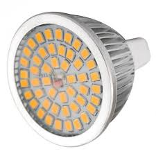 enlarge led spotlight mr16 gu5 3 7w 3000k 640lm 48 smd 2835 ac