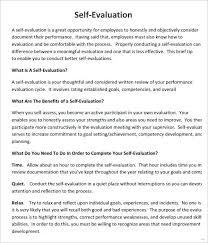 Job Performance Evaluation Form Templates Sample Employee Annual ...
