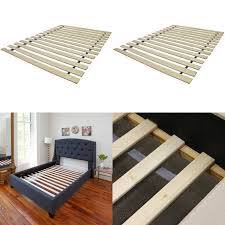 classic brands solid wood bed support slats