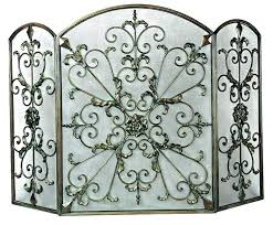 Unique fireplace screens Doors Unique Fireplace Screen Cast Iron For Decorative Wrought Screens Scroll Small Unique Fireplace Screen Dmitrylebedev Unique Fireplace Screen Restoration Hardware Screens Tools And