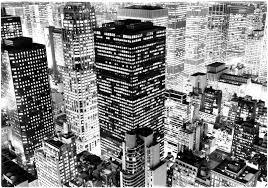 Photo New York Immeubles New York Coloriages Difficiles Pour