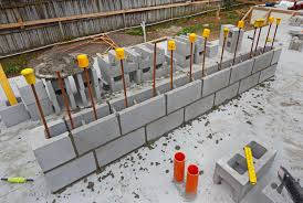 Small Picture 51 Reinforced Concrete Block Wall Construction CONCRETE BLOCK