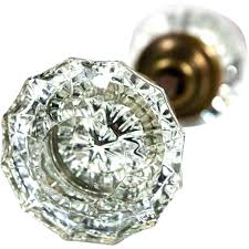 glass knobs and pulls vintage door for a fluted antique knob square cabinet large crystal