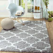 light grey and white striped rug decor inc supreme royal trellis area
