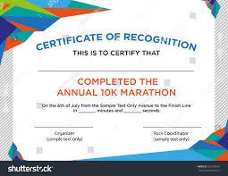 Sample Certificate Of Recognition Major Magdalene Project Org