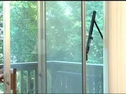 security bar for sliding glass doors