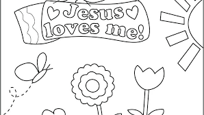 Jesus Loves Me Coloring Pages Loves Me Coloring Pages Loves Me