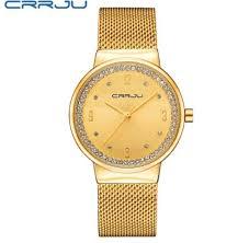 <b>New Brand CRRJU</b> Relogio Feminino Clock Women Watch ...