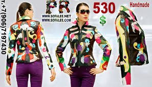 multicolor leather jacket 00