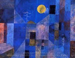 paul klee moonshine oil painting reion