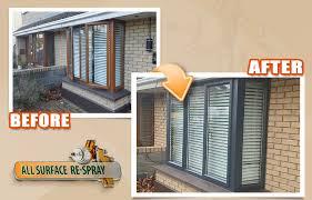 upvc windows and doors respray spray