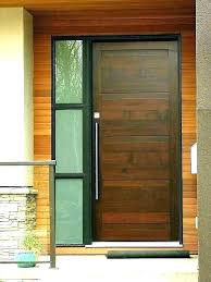 modern exterior front doors wood door and glass wooden external fron
