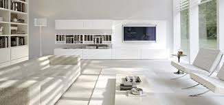 White Living Room Cabinet Appealing Design In Modern Living Room With White Tv Stand And