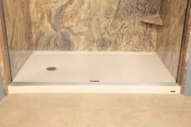fiberglass shower floor